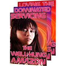 Servicing The Well-Hung Amazon (Fantasy M/F Trans Femdom Romance)