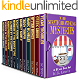 The Stratford and King Mysteries: Twelve murder mysteries by N.C. Lewis, including the complete Ollie Stratford mysteries plus five standalone Amy King stories