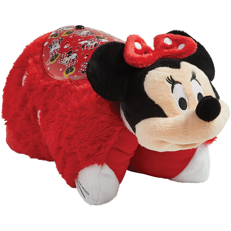 Pillow Pets Disney Rockin the Dots Minnie Mouse Sleeptime Lites Retro Minnie Mouse Plush Night Light