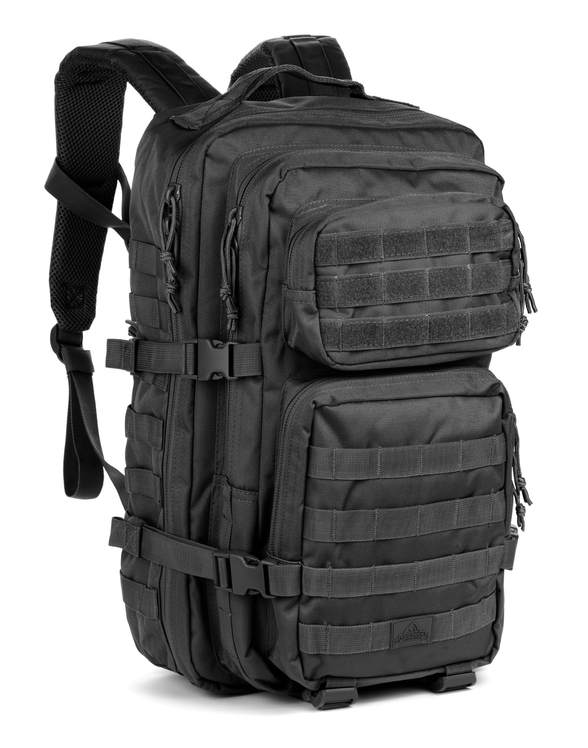 Red Rock Outdoor Gear Assault Pack (One Size, Black)