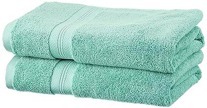 Pinzon - Juego de toallas de algodón Pima (2 toallas de baño), color