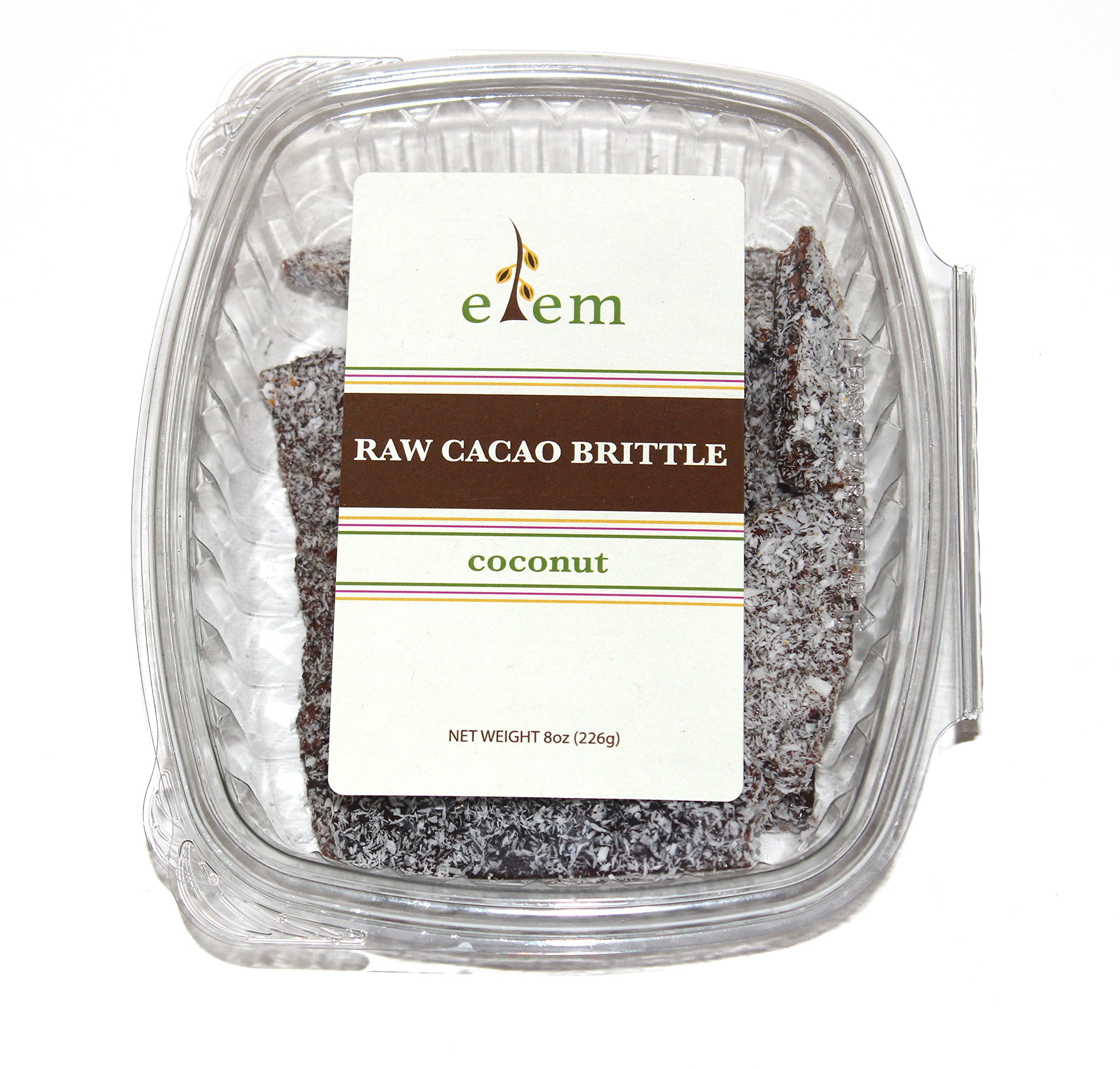 Elem Foods Cacao Brittle - Coconut, Nibs