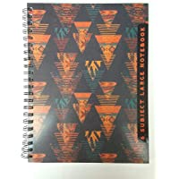 MSGH Anupam 6 Subject Large Notebook, Soft Cover, 240 Pages, Single Ruled, with Attached Transparent Pouch. (Pack of 1 Pcs)