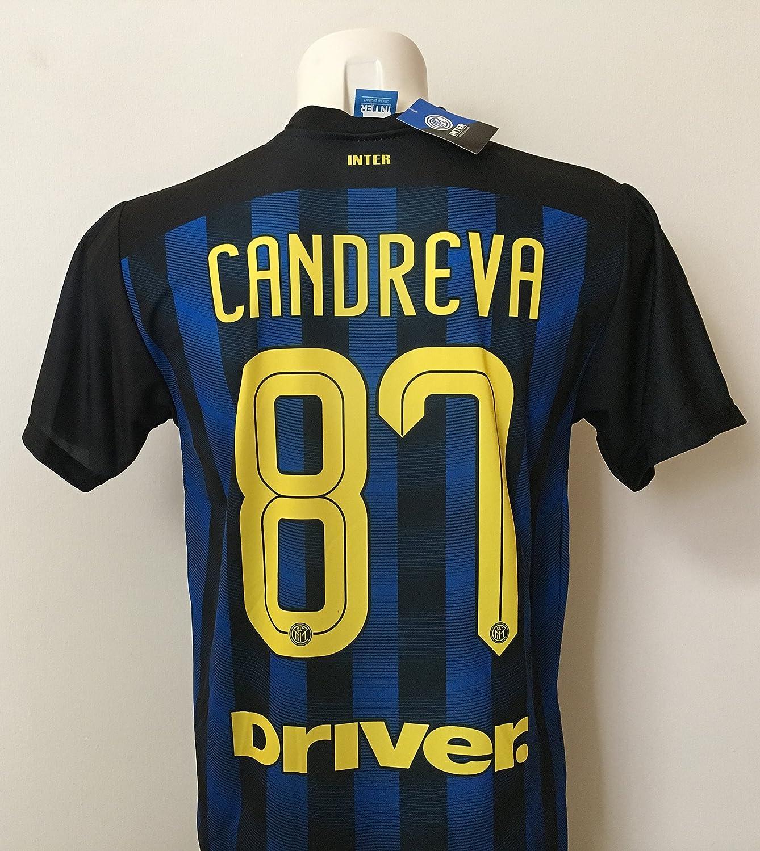 F.C.Internazionale Maglia CANDREVA Inter Replica Ufficiale 2016 ...
