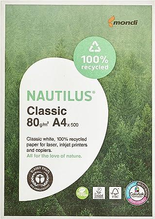NAUTILUS Kopierpapier SuperWhite DIN A4 500Blatt//Pack