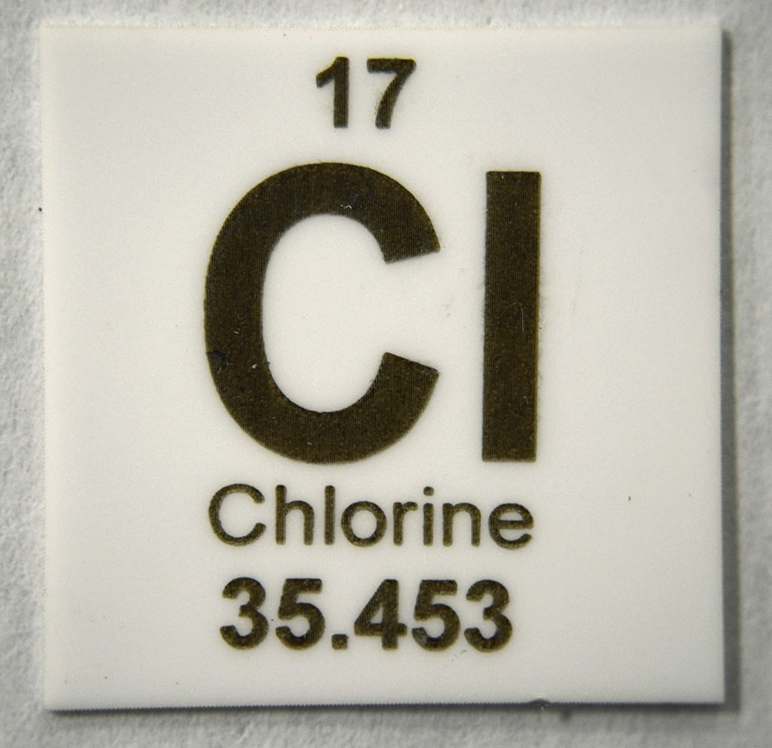 Amazon Chlorine 1 X 1 Elemental Ceramic Column Scoring Wafer