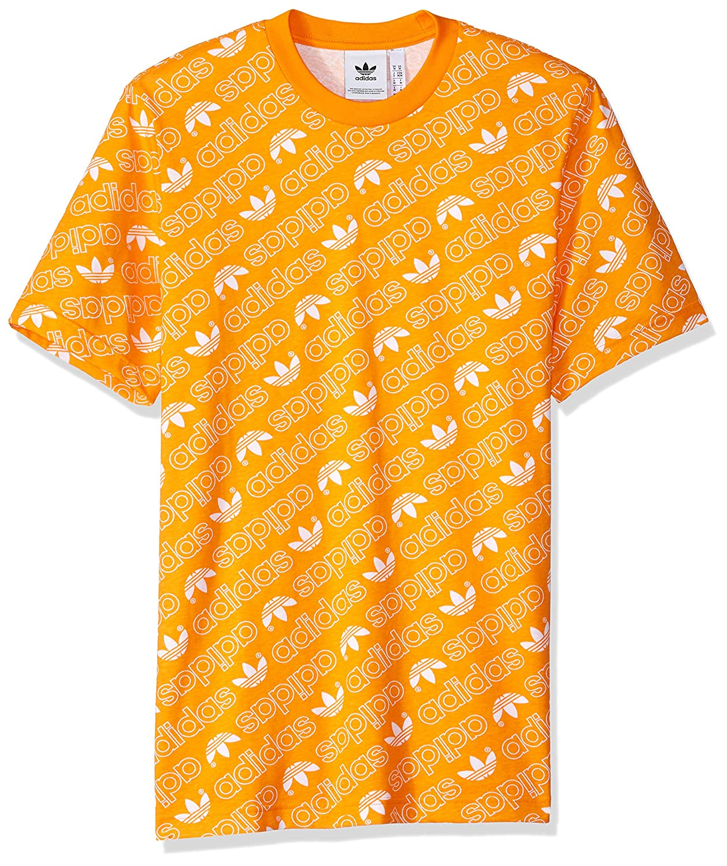 15c34b6ca Amazon.com: adidas Originals Men's Monogram All Over Print Tee: Clothing