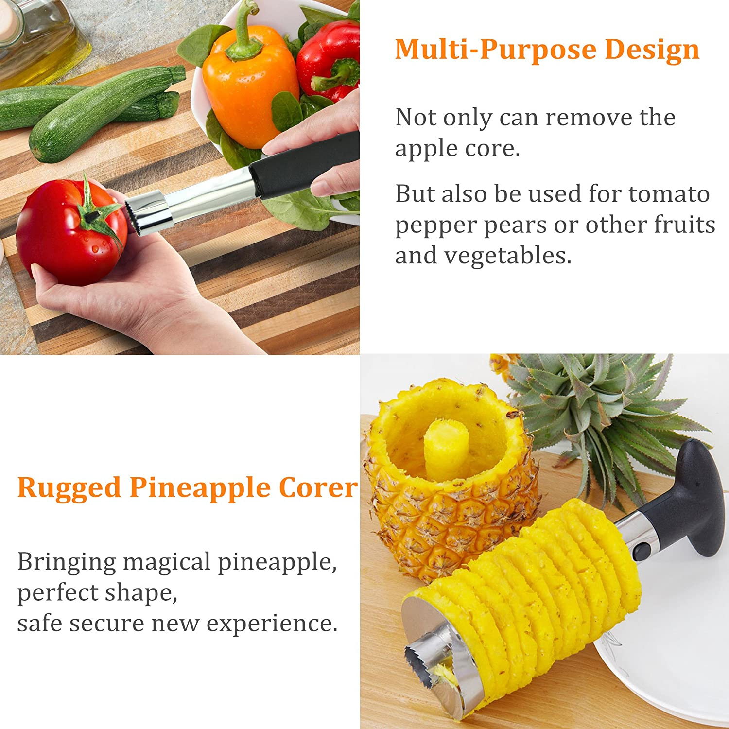 amazon com pineapple u0026 apple corer good grips precision
