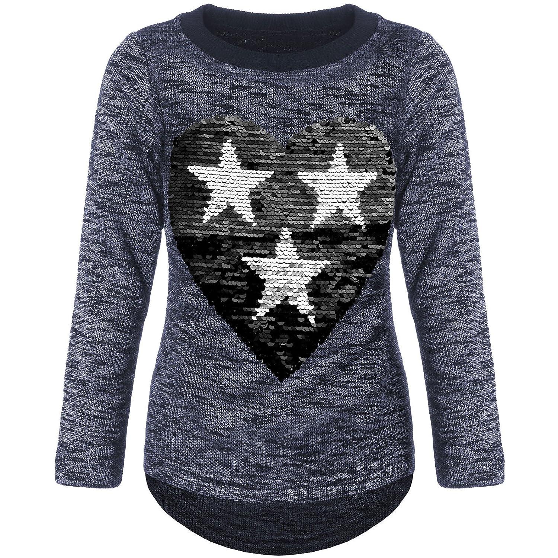 BEZLIT Mädchen Pullover Wende-Pailletten Sweatshirt 21517