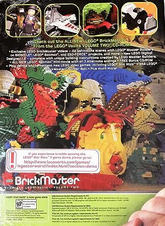 Amazon com: Lego BrickMaster ~ Two Disc Set {From the LEGO