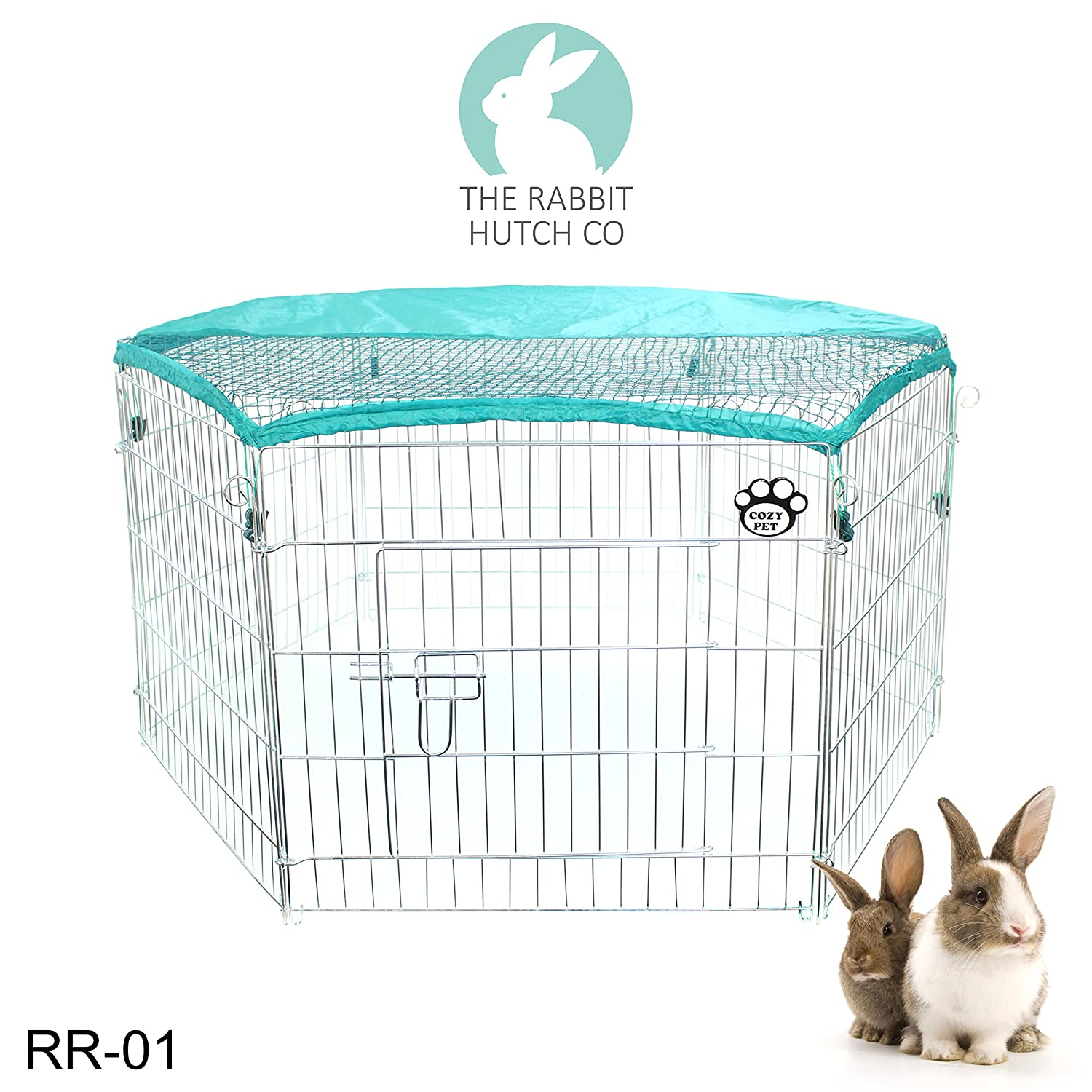 Rabbit Run 6-Sided Pen Guinea Pig Playpen Puppy Runs Tortoise Play ...