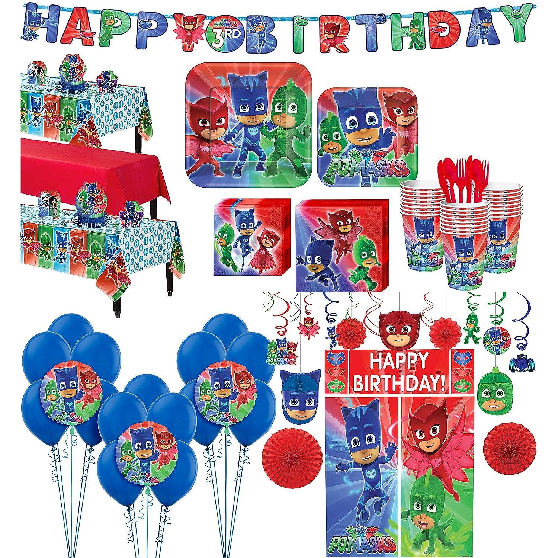 PJ Mask Party Bundles for 24 Guests
