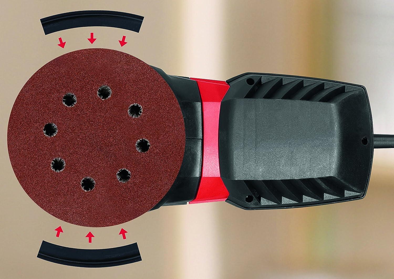 Skil Exzenterschleifer 7445 AA 430 W, /Ø 125 mm, Staubf/üllstandanzeige, +3 tlg. Schleifpapierset