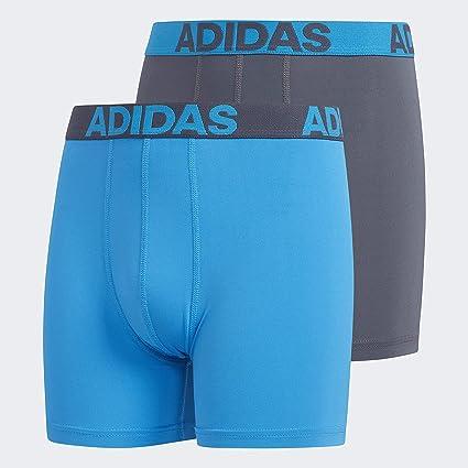Molesto Competidores interior  Adidas Climalite - Ropa Interior para niños/jóvenes, Rendimiento Deportivo  (2 Unidades): Amazon.com.mx: Deportes y Aire Libre