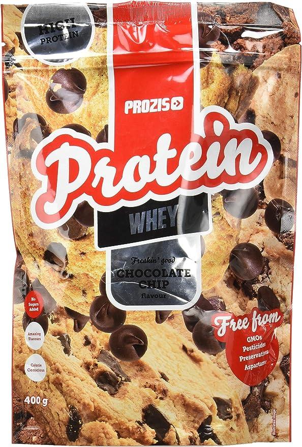 Prozis Whey Protein Freakin Good, Pepitas de chocolate - 400 g