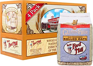 product image for Bob's Red Mill Gluten Free Old Fashioned Rolled Oats, 32 Ounce (Pack of 4)