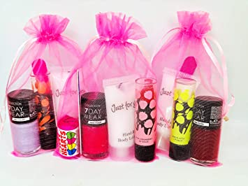 Pre Filled Girls Thank You Birthday Sleepover Party Bags Gifts Favours Children