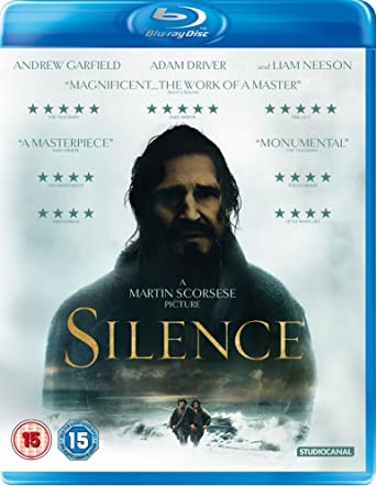Image result for silence blu ray