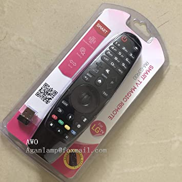 Calvas - Mando a Distancia para LG 49UK6200 43UK6200 60UK6200 43UK6300PLB 49UK6300PLB 55UK6300PLB 65UK6300PLB 43UK6500PLA 50UK6500PLA Smart TV Magic: Amazon.es: Bricolaje y herramientas