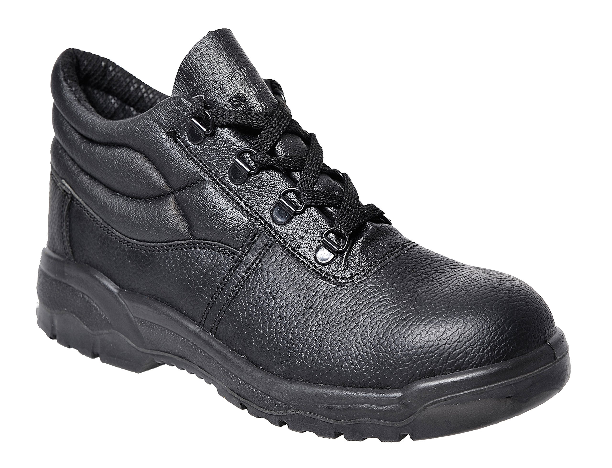 Portwest UFW10BKR0080 Regular Fit Steelite Protector Boot, Size 8, Black