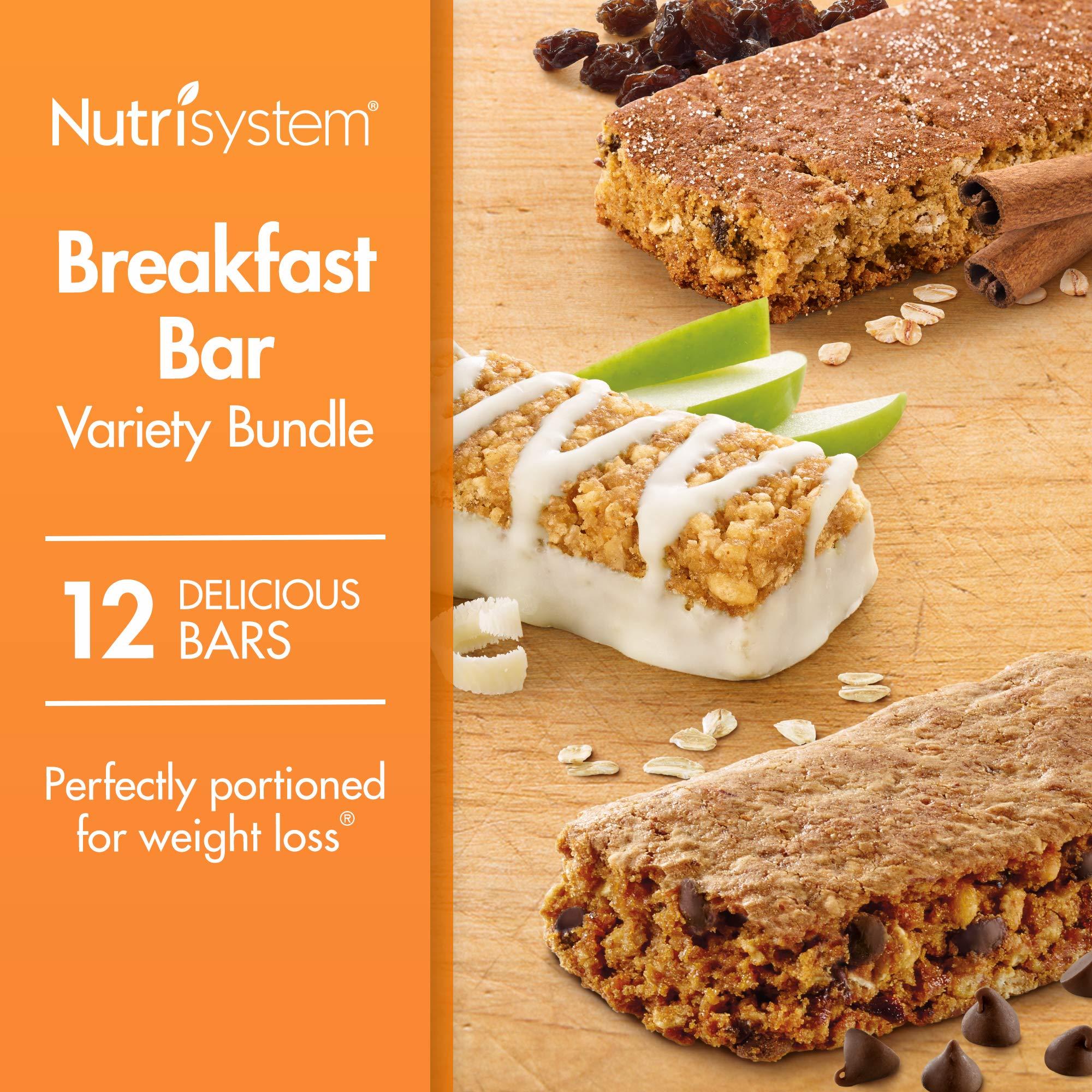 Nutrisystem® Breakfast Bar Variety Bundle, 12 Count Bars