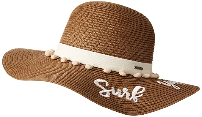 Roxy Womens Pio La La - Straw Sun Hat - Women - S - White Marshmallow 3b5d1748e7a