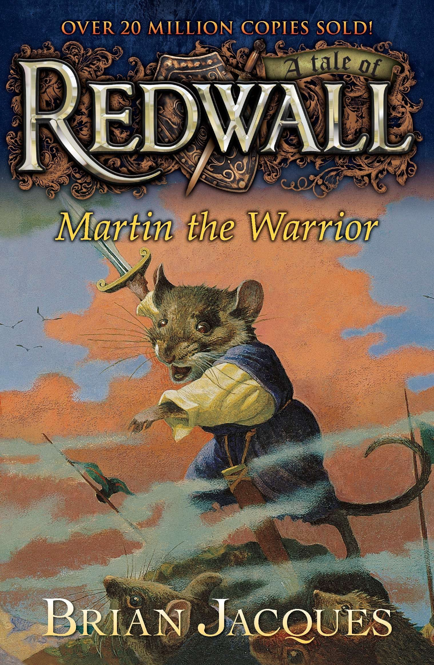 Martin the Warrior: A Tale from Redwall: Brian Jacques: 9780142400555:  Amazon.com: Books