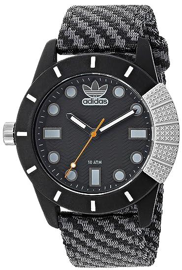 Adidas Originals ADH3169 Reloj Análogo Unisex para Adultos, color Negro