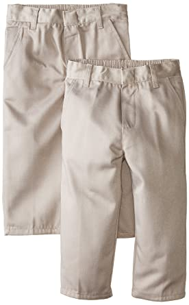 ca43af65bb6 Genuine Boys' 2 Pack Pants (More Styles Available), Classic Khaki, ...