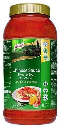 Knorr Chinesische Sauce Süß Sauer Pikante Sauce Mit Gemüsestücken