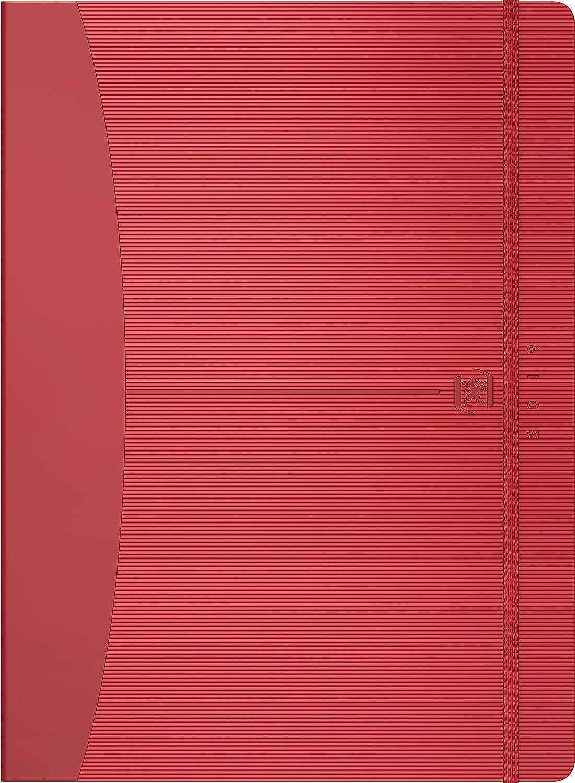 Oxford 100735822 Signature Agenda Civil Semainier Année 2019 18 x 25 cm Rose Hamelin