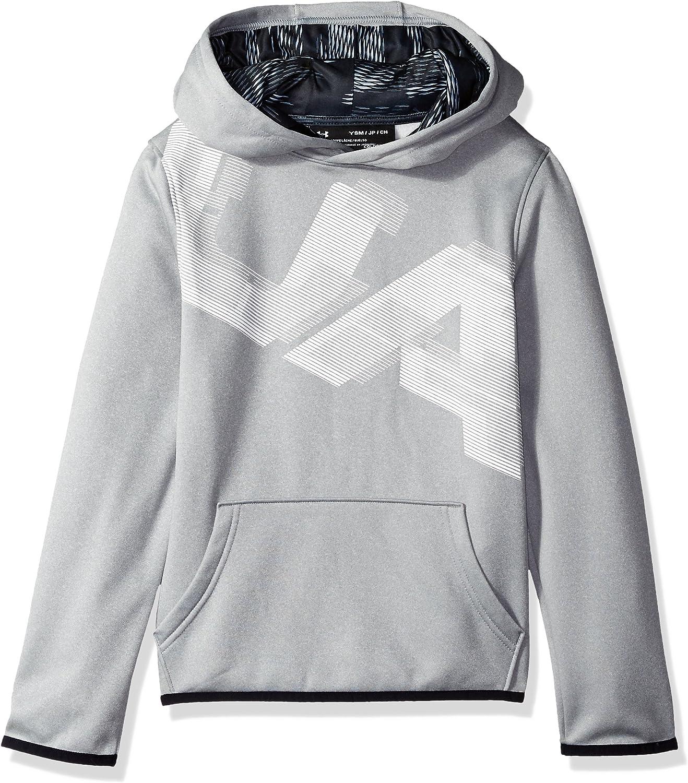 Under Armour Boys Fleece Highlight Printed Hoodie: Clothing