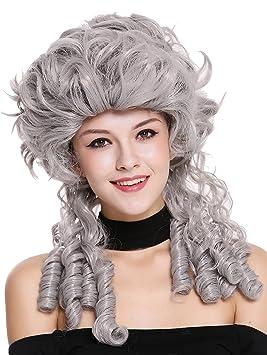WIG ME UP ® - DH1009-ZA68E Peluca señoras Mujer Carnaval Barroco Renacimiento Romanticismo menina