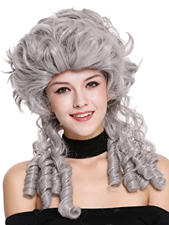Wig Me Up Dh1009 Za68e Perucke Damen Karneval Barock Renaissance