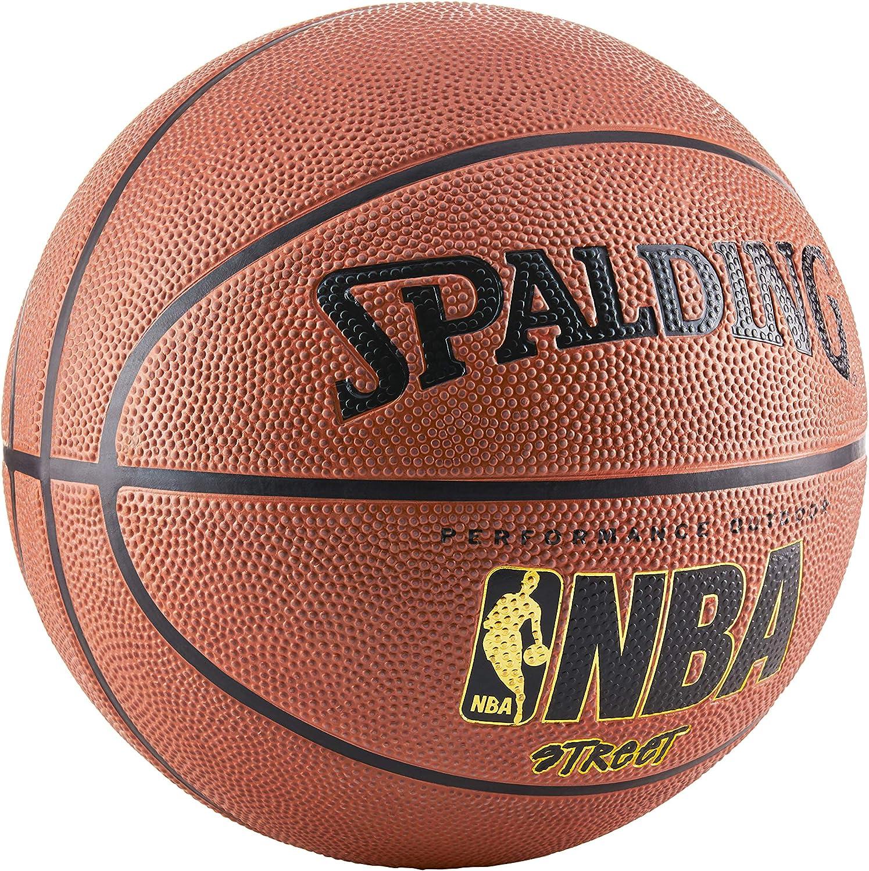 Spalding NBA Street - Balón de Baloncesto (Talla 7), Color Negro ...