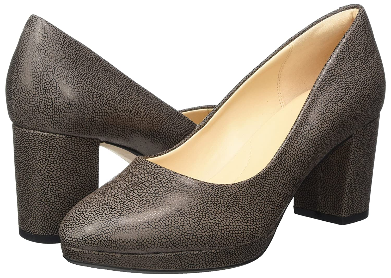Jane Klain Pumps, Zapatos de Tacón con Punta Cerrada para Mujer, Gris (240 Titan), 39 EU