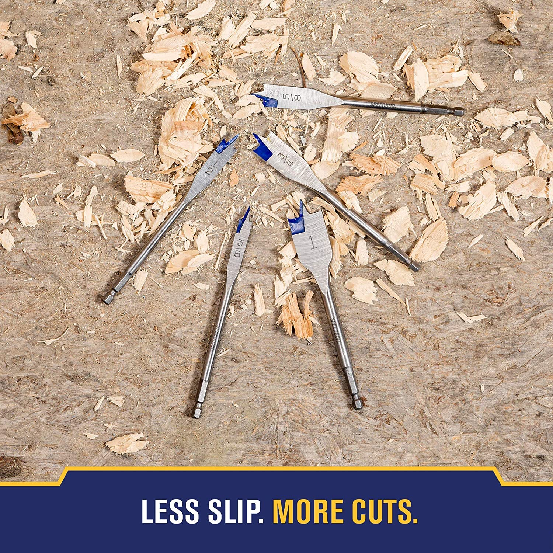IRWIN 88706 Speedbor 3//8 Spade Wood Drill Bit
