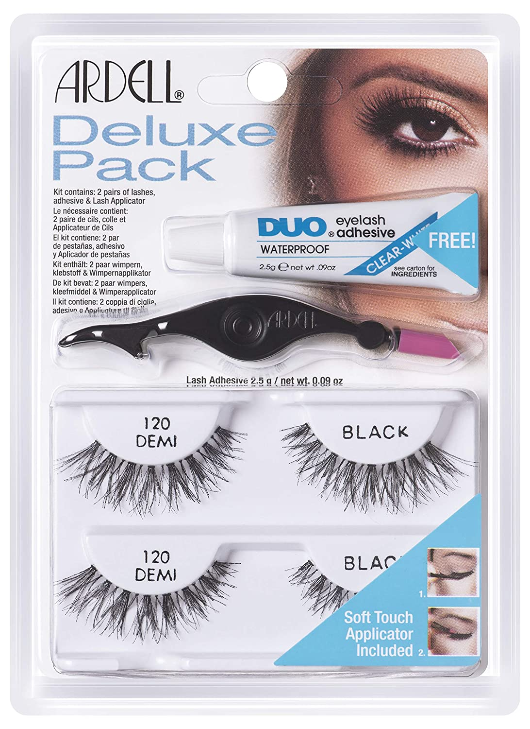 53a9067f28c ARDELL Deluxe Pack Lash 120 Black: Amazon.ca: Beauty