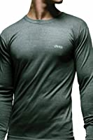 Mens 1 Pack Jeep Long Sleeved Thermal T-Shirt In 3 Colours
