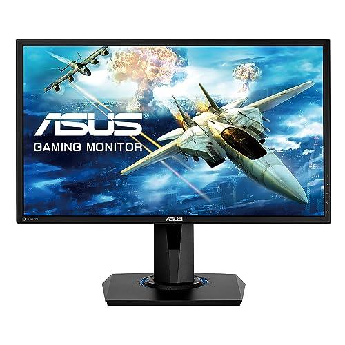 ASUS VG245Q Monitor Gaming de 24 Full HD 1920x1080 1 ms Free Sync HDMI x2 DisplayPort D Sub Flicker Free Panel TN Altavoces con Base ergonómica Color Negro