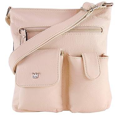 Amazon.com  Purse King Colt Concealed Carry Handbag (Beige)  Clothing 15b05976b1b50