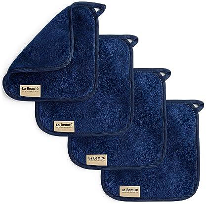 LaBeauté Toallitas Desmaquillantes (4 piezas) - toallitas limpiadoras y desmaquilladoras - Toalla de microfibra
