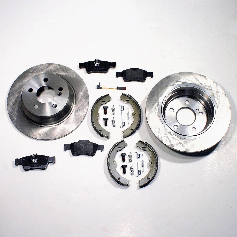 Bremsscheiben 300 mm//Bremsen Bremsbel/äge f/ür hinten//die Hinterachse