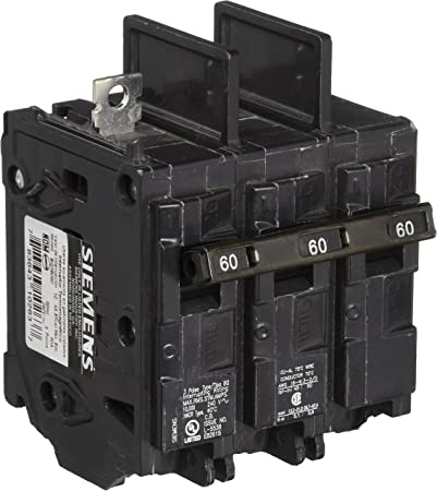 Siemens BQ3B060 circuit breaker 3pole 60amp 240v type BQ New  warranty !!