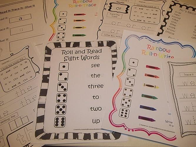 Amazon com: 267 Bulk Printed Preschool and Kindergarten
