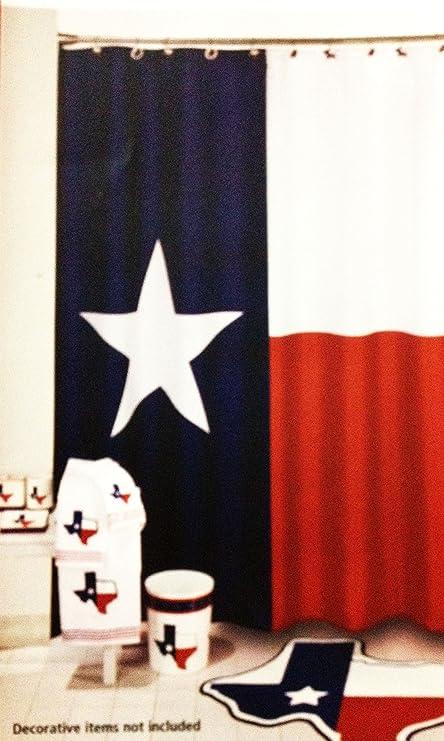 Texas Flag Curtains