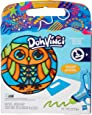 Play-Doh Dohvinci Stained Glass Effect Refill Art Set - Owl
