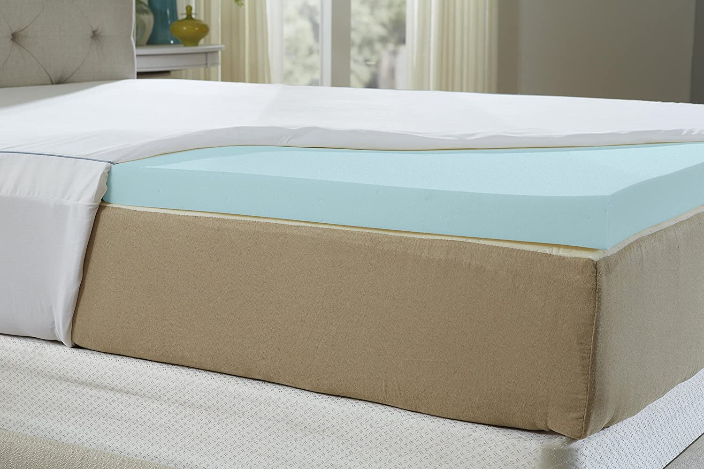 Natures Sleep (ネイチャーズスリープ) ジェルメモリーフォームマットレストッパー フル ホワイト 30AF-46 B01B3V4Y24 フル