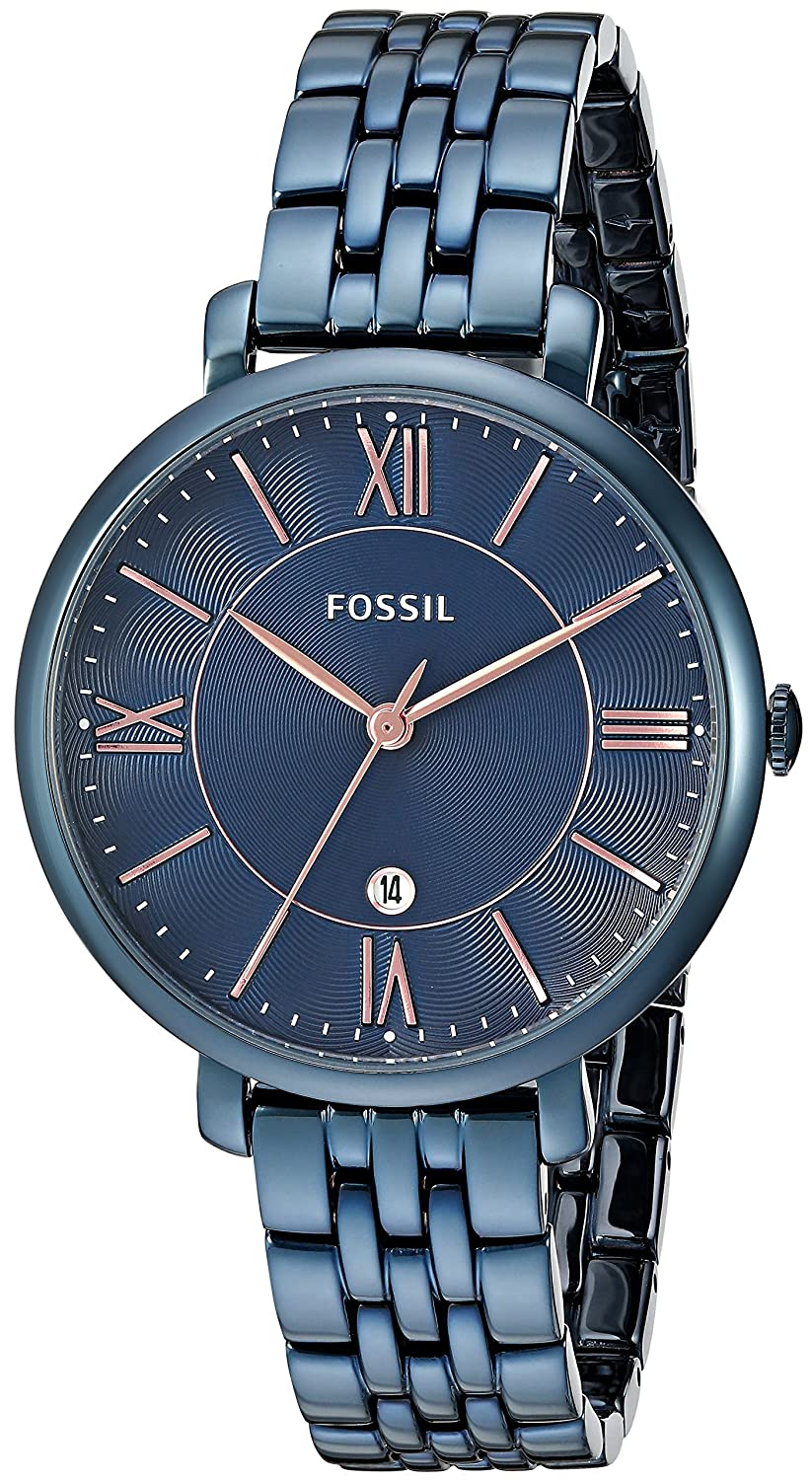 Fossil blue watch