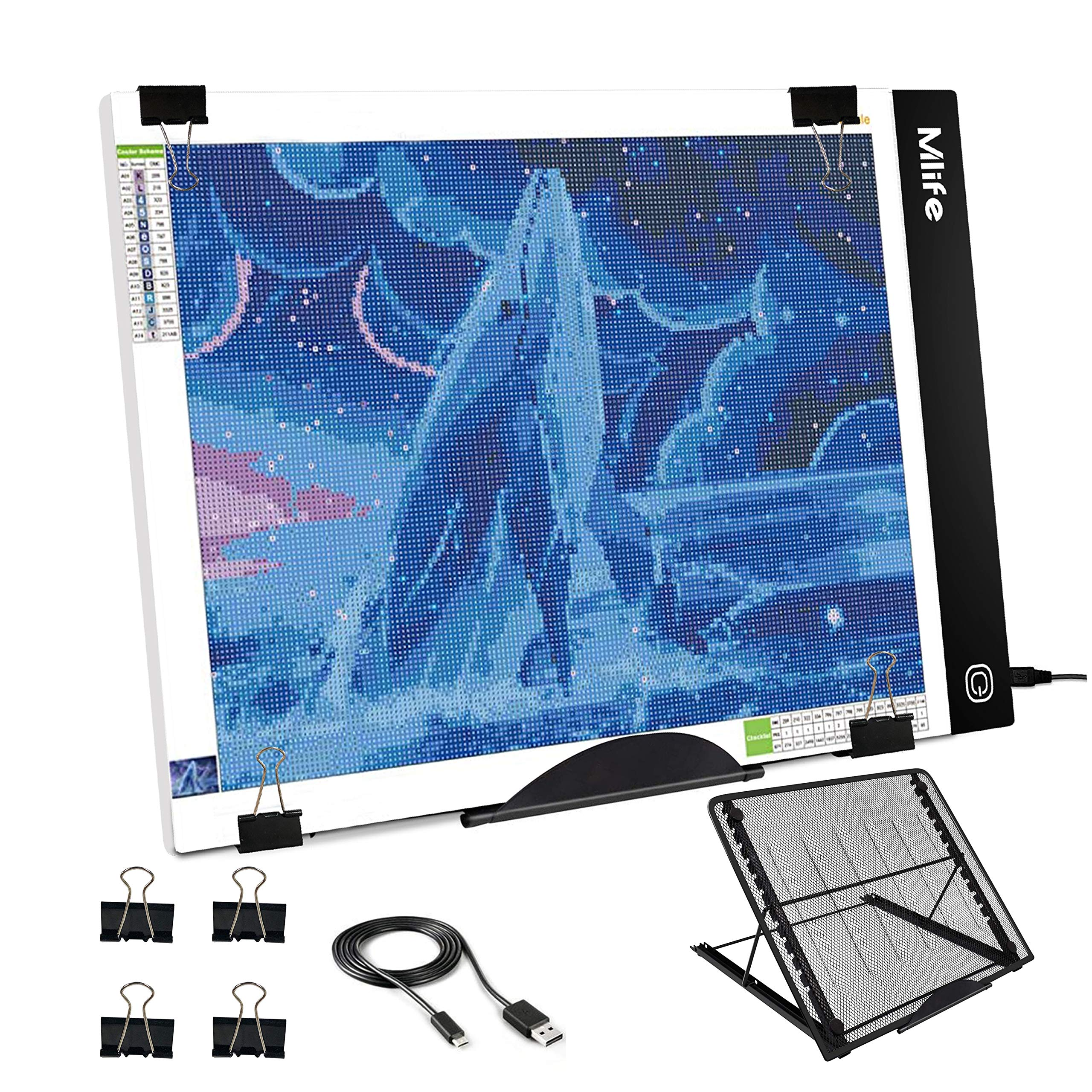 Mlife B4 LED Light Pad Kit - Upgraded Diamond